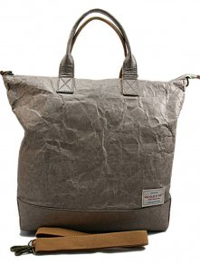 Shopper Taupe Waxed Paper