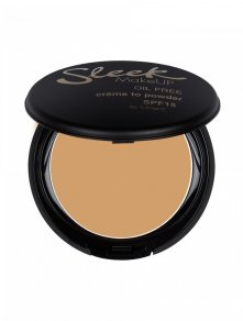 sleek creme to powder in sand foundation jojobaolie hydrateert de huid crem powder matte textuur