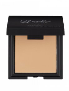 sleek suede effect pressed powder 1 kleur bruin foundation volledige dekking